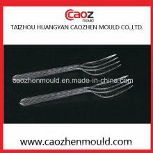 Couverts jetables / moule en fourchette en plastique pour nouilles instantanées