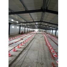 Équipement automatique de bétail avec la maison de structure en acier pour des projets clés en main avec l'installation