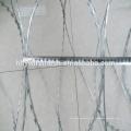 анти-подняться гальванизированные провод бритвы BTO22 колючая проволока заграждение колючая проволока