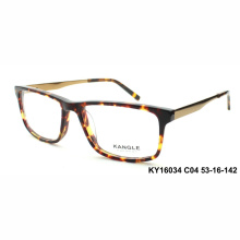 Haute qualité Man acétate optique montures et lunettes de vue
