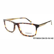 Высокое качество мужчины ацетат оптических оправ и очки очки