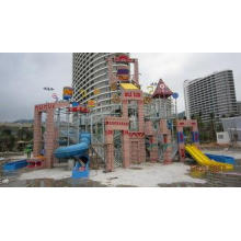 Maya Style Family Interactive Water Playground Park for Chi