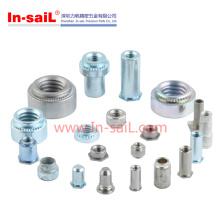 China Herstellung von verzinktem Stahl Clinch Nut Fastener