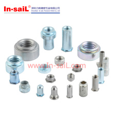 China Manufacturing Zinc Plated Steel Clinch Nut Fastener