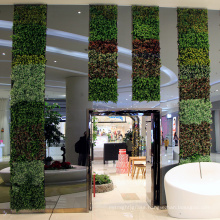 High simulated customized artificial foliage fence for shop decoration