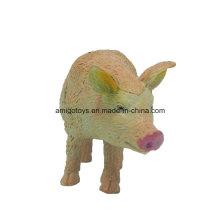 Juguetes hechos a mano del animal nuevo del diseño del cerdo para los cabritos