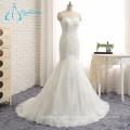 2017 Tulle popular caliente que rebordea el vestido de boda atractivo de la sirena del cordón