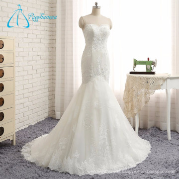 2017 New Covered Button Lace Suzhou Wedding Dress