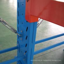 Solución de almacenamiento de brazo resistente vendedora caliente / estante voladizo con brazo móvil