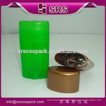 wholesale PP small gel white tube packaging filling and 15g 50g 75g empty plastic deodorant empty bottles