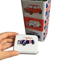 Irregular Shaped Metal Tin Box for Gift Packaging