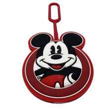 Custom Soft Rubber Luggage Tag For Travel Accessories
