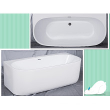 Upc Full Aclove Waltmal Collection Melody 67 Inch Freestanding Bathtub
