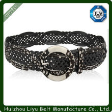 Hot Selling Alloy Buckle Braided Belt In Stock
