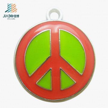 Pendentif en métal coloré d'émail d'artisanat en métal de logo fait sur commande pour la promotion