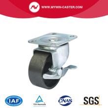 Platte Bremse schwere industrielle Caster