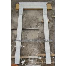 Stein Marmor Granit Bogen Tür für Torbogen Tür Umgebung (DR043)