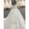 Lace Wedding Dress 2018 For Plus Size Girl Strapless Sweetheart Bridal Dress