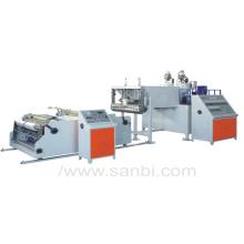 Máquina de filme de estiramento de co-extrusão de camada dupla Modelo DF-65X2 (enrolador automático) (CE)