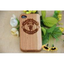 Nouvelle housse en bois pour téléphone, étui simple en bambou