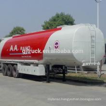 46000L 3 Axles liquid tank trailer/Acid transport tank trailer/ Chemical liquid transport tank trailer/fuel tank trailer