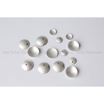 Piezoelectric Ceramic Hemisphere  OD19.5x4MHz