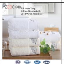 Algodón egipcio respetuoso del medio ambiente al por mayor toalla de colección de hotel de lujo