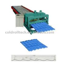 Carrelage en acier YX28-220-1100 formant la machine