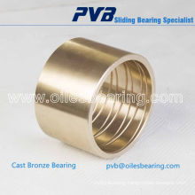 OEM quality bronze bearing, schwing spare parts 10063938, cutting ring DN 165