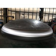 Duplex steel dishend for special vessel