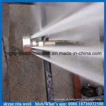 200bar de alta pressão de água blaster bloco de drenagem tubo de limpeza