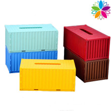 Creative Container Design Plastic Tissue Box (ZJH044)