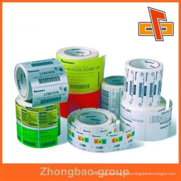 Made in China customiz etiquetas autoadhesivas, etiquetas adhesivas para botellas de plástico, etiquetas para botellas de vidrio, pegatina de botella de plástico