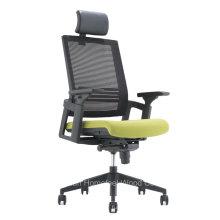 Escritório de mobiliário moderno Direção Diretora de malha giratória traseira (HF-GT001)