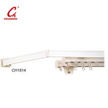 Glissière blanche à épurateur de rideau (CH1814)