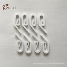 Anpassen weiße Farbvorhang Zubehör Kunststoff Vorhang Ring Kunststoff Vorhang Ösen Vorhang Haken