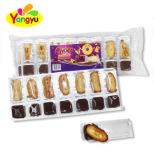 China Cheap Letter Biscuits with Chocolate for kids
