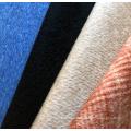 Tela de mezcla de lana de algodón tejida de venta caliente