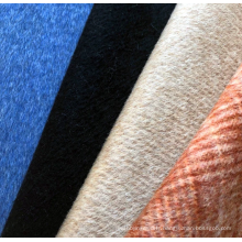 Tissu de mélange de laine de coton tissé de vente chaude