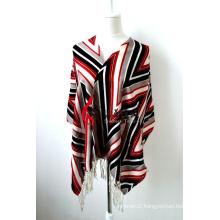 100% Merino Wool Printed Shawl