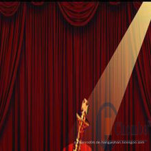 Porzellanherstellung Bühnenvorhänge / Sternenlicht Kulissenvorhang