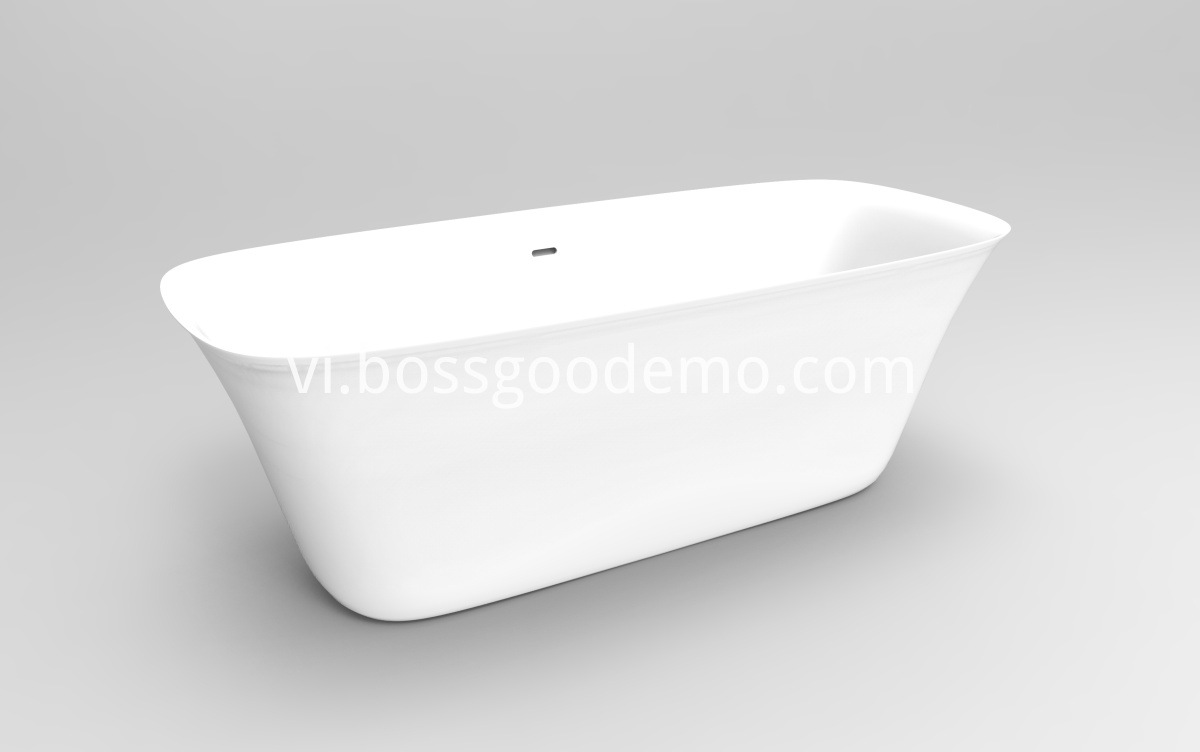 pure acrylic Freestanding bathtub
