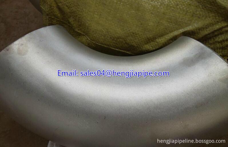 SS304 seamless elbow