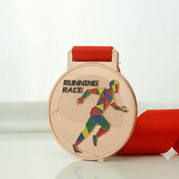 Billiga Metal Sports Medals With Ribbon