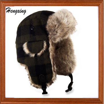 Winter Plaid Trooper Hat