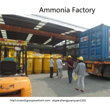 anhydrous ammonia in 100L cylinder for refrigeration