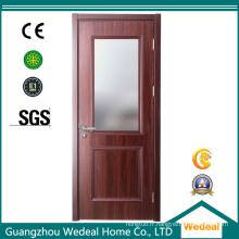 Porte en bois adaptée aux besoins du client avant / intérieure en chêne / MDF