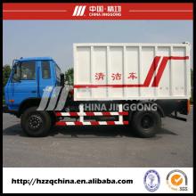 Carro de transporte de basura segura (HZZ5140XLJ) se venden bien por todo el mundo