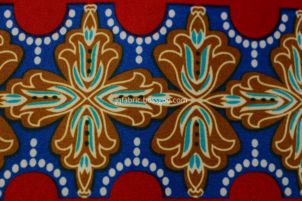 African Real Wax Printing Fabric