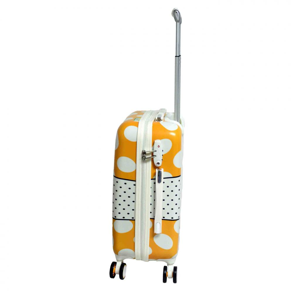 Cute Color PC Luggage Set with Aluminum Tube